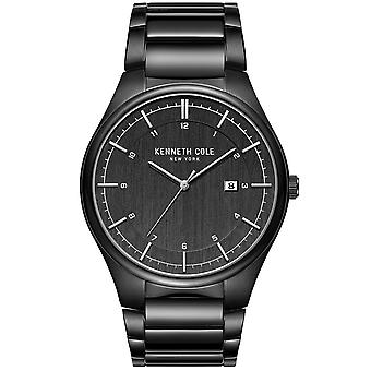 Kenneth Cole Kc51015002 Modern Classic Black Stainless Steel Mens Watch