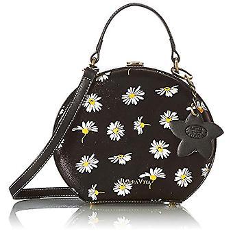 Laura Vita 4173, Shoulder strap, Citt Bag. Woman, Black, Medium