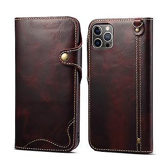 Slot per la custodia del portafoglio in vera pelle per pc vino iphone x/xs1121