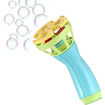 Electric Bubble Wands Machine Bubble Maker Automatic Blower Outdoor Toy For Kids