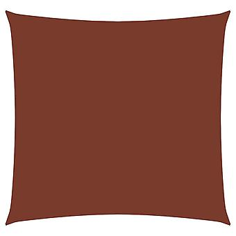 vidaXL Awning Oxford Fabric Square 4,5x4,5 m Terracotta Red