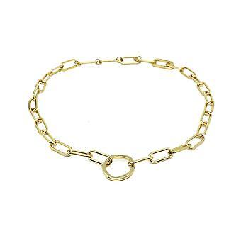Boho betty eternity gold chunky chain necklace