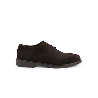 Duca di Morrone - Shoes - Lace-up shoes - O58D-CAMOSCIO-TDM - Men - saddlebrown - EU 42