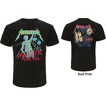 Metallica - Og Rettferdighet For Alle (Original) Menn Liten T-skjorte - Svart