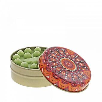 Red & Orange Kaleidoscope with Olive Soap