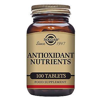 Antioxidant næringsstoffer Solgar (100 tabletter)