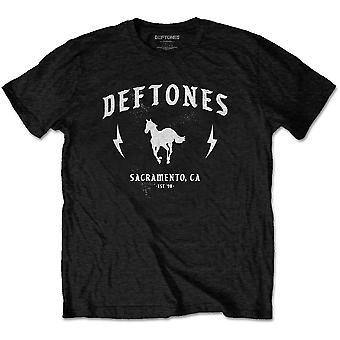 Deftones - Electric Pony Unisex Medium T-Shirt - Negro