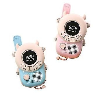 2pcs Children Wireless Communication Walkie Talkie £¬handheld Parent-child Interactive Toy