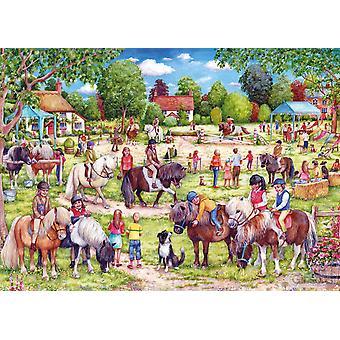 Gibsons Shetland Pony Club Jigsaw Puzzle (1000 Pieces)