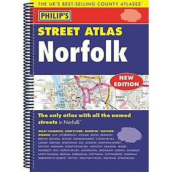 Philips Street Atlas Norfolk de Philips