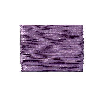 20m lilla vokset bomull 1mm streng for threading håndverk   Ledning og elastisk