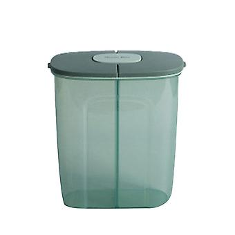Transparent Food Storage Jars Container Large 2500ML Function Home Sealed Cans with Lid Kitchen