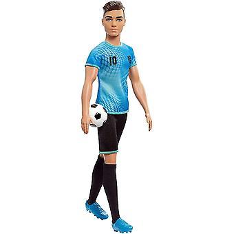Barbie Ken Carrière Dolls Soccer Player