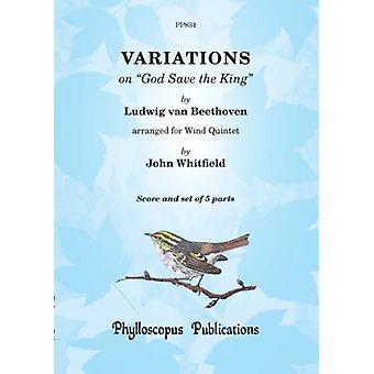 Beethoven: God Save the King Variations (Arr: John Whitfield )