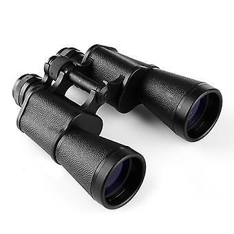 12x45 Vonkajší ďalekohľad na pozorovanie vtákov, kompaktný prenosný nepremokavý ďalekohľad, ďalekohľad pre dospelých,(čierny)