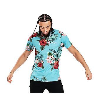 Hype Mens Aquifer Tropics Tropisk T-Shirt