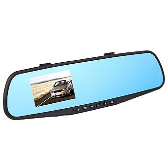 720p 2.8ltps Mirror Video Dash Dual Car Video Recorder Camera Rear View Dvr