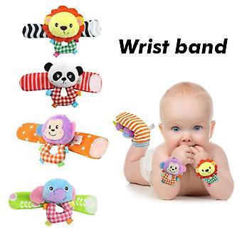 Детские носки, игрушка погремушки и ноги Finder Fun