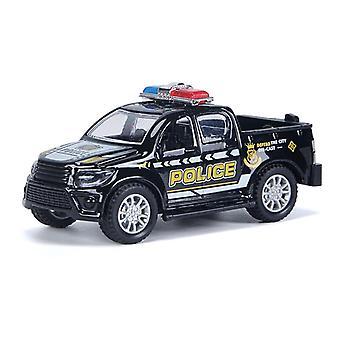 Alloy Druckguss Kinder Polizei Serie Auto Spielzeug Modell