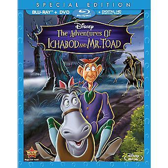 Adventures of Ichabod & Mr Toad [BLU-RAY] USA import