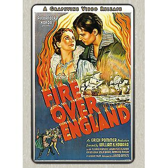 Fire Over England (1937) [DVD] USA import