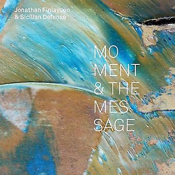 Jonathan Finlayson & Sicilian Defense - Moment & the Message [CD] USA import