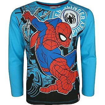 Marvel Spiderman jungen Langarm Top / T-Shirt