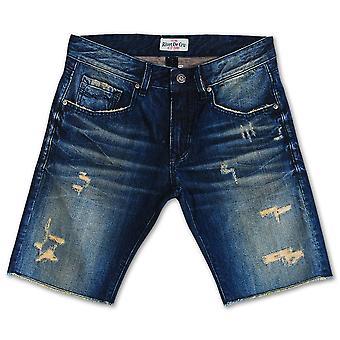 Klinke De Cru Lime Cream Denim Shorts
