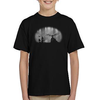 Eigenzinnige zielen Over de tuin muur Limbo Kid's T-Shirt