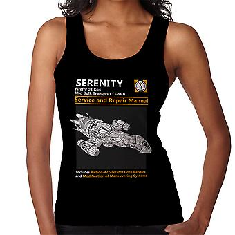 Firefly Serenity Service And Repair Manual Women's Vest