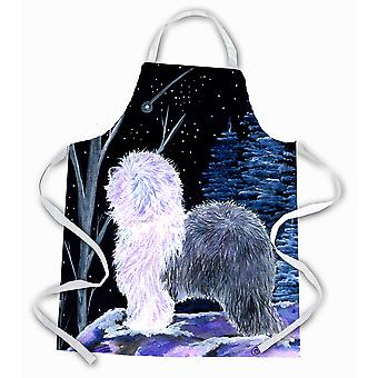 Carolines skatter SS8401APRON stjernehimmel Old English Sheepdog forkle