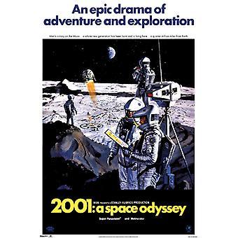 2001 ein Space Odyssey Poster Plakat-Druck