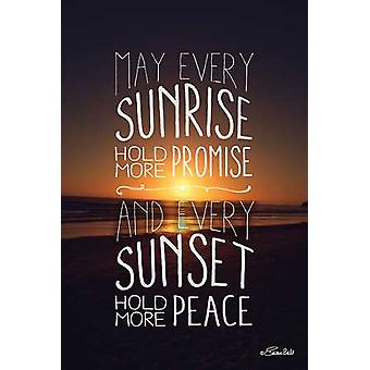 Promise and Peace Poster Print by Susan Ball (12 x 18)