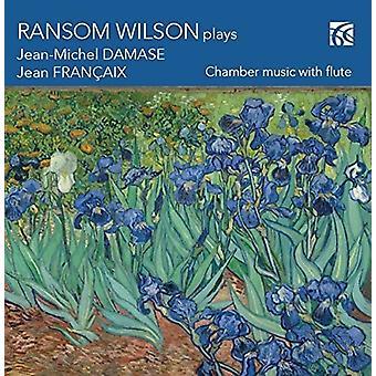 Damase, Jean Michael / Wilson, Ransom - Ransom Wilson Plays Damase & Frangaix [CD] USA import