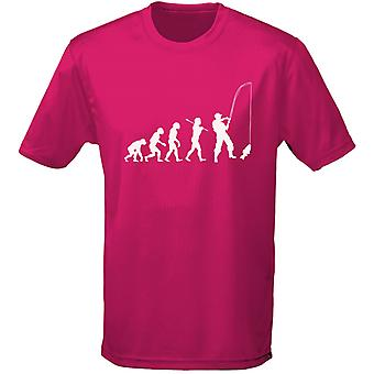 Fishing Evo Evolution Kids Unisex T-Shirt 8 Colours (XS-XL) by swagwear