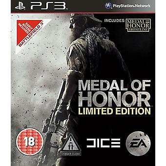 Medal of Honor - Limited Edition (PS3) - Factory Sealed
