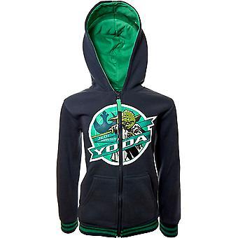 Boys AHQ1058 Star Wars Full Zip Hooded Sweatshirt