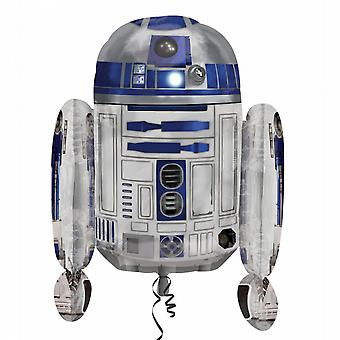 Anagram Supershape Star Wars R2-D2 Foil Balloon