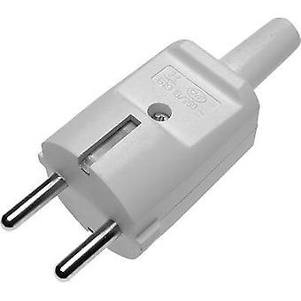 GAO veiligheid stekker PVC 230 V grijs IP20