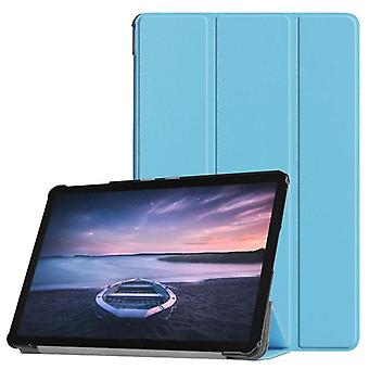 Premium light blue smart cover case for Samsung Galaxy tab S4 10.5 T830 T835