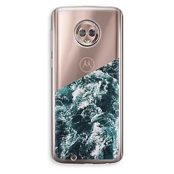 Motorola Moto G6 transparant Case (Soft) - Ocean Wave