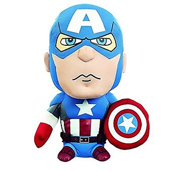 Funko Plush Marvel Medium Talking Captain America Soft Legetøj