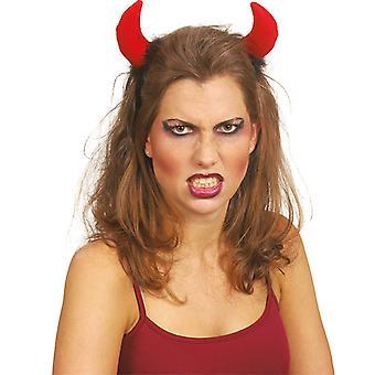 Duivel hoofdband accessoires carnaval Halloween duivel