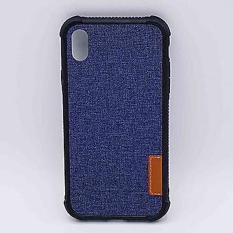 Für IPhone XR-Pouch-Jeans Look-blau