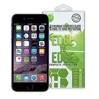 Svart Premium herdet Glass For iPhone 6 / 6 +