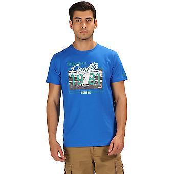 قميص كم قصير تي القطن الرسم الثالث كلاين رجالي سباق القوارب