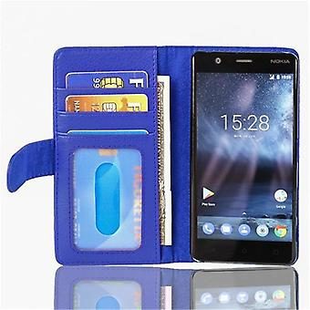 Cadorabo case for Nokia 3 2017 case case cover - phone case with magnetic clasp and 3 card pockets – Case Cover Protective Case Case Book Folding Style
