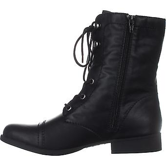 American Rag Womens Fionn Closed Toe Mid-Calf Combat Boots