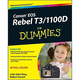 Canon EOS Rebel T3 / 1100D For Dummies