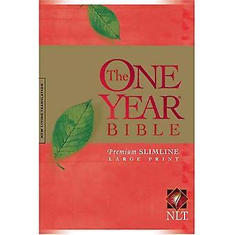 Ein Jahr Premium Slimline Bibel-NLT-Large Print 10-jähriges Jubiläum [Großdruck]